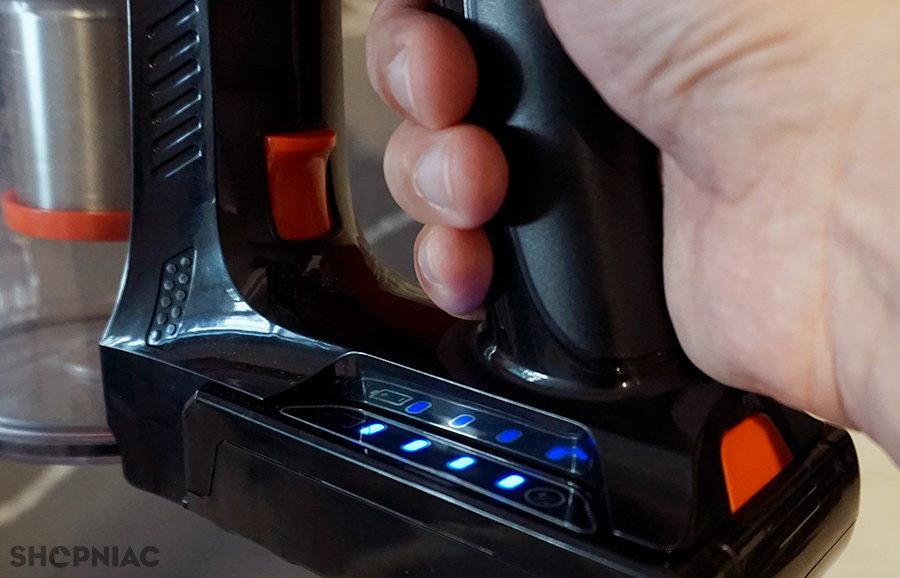 blitzwolf bw-ar182 indicator LED baterie