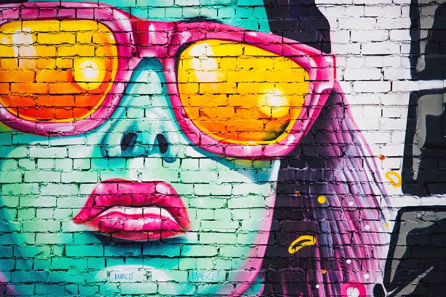graffiti ochelari de soare