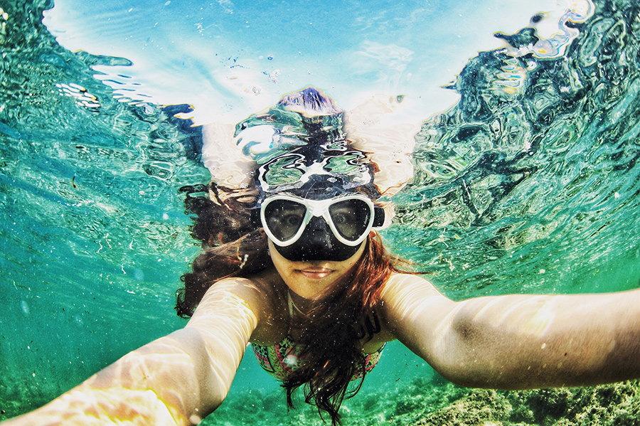 ochelari pentru scufundari