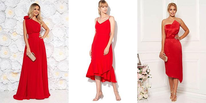 rochii de ocazie rosii