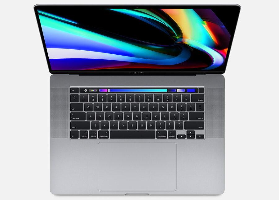 apple macbook pro 16 inch deschis