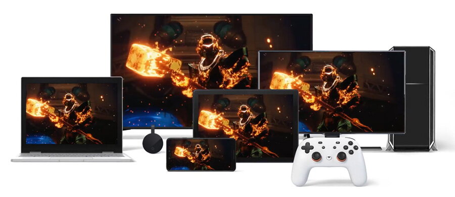 Google Stadia: streaming de jocuri din cloud, fara consola sau PC