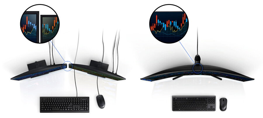 dual monitor vs super ultra wide