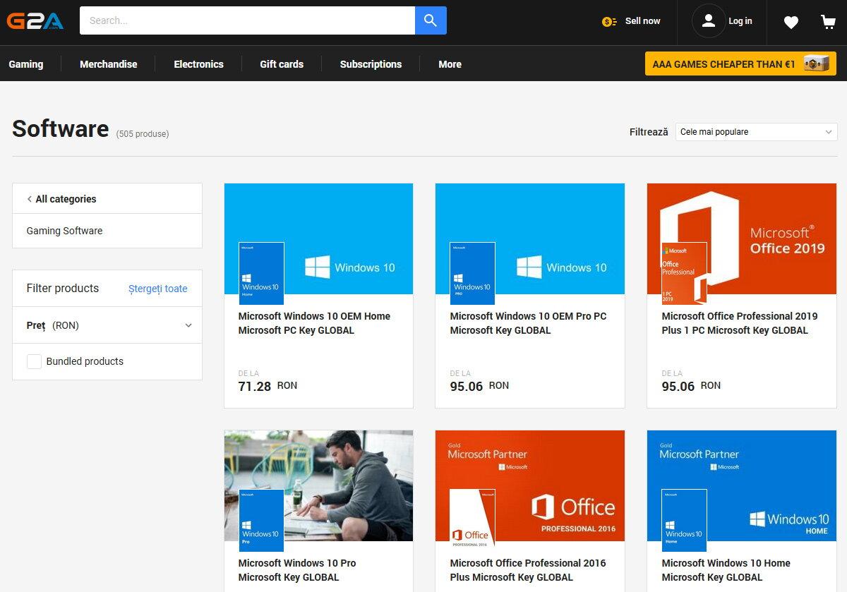 Licente software ieftine: cum este posibil sa iei Windows si Office cu doar cativa lei?