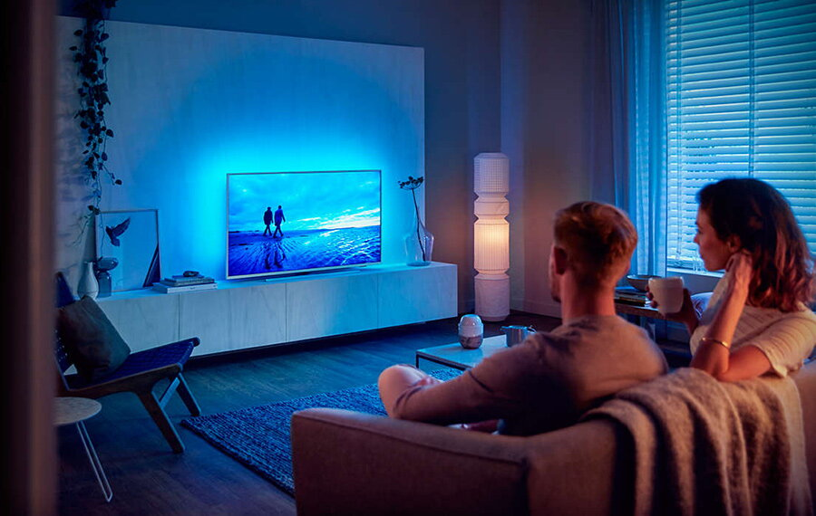 lumina ambientala televizor