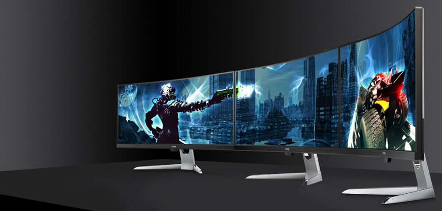 monitoare de gaming surround