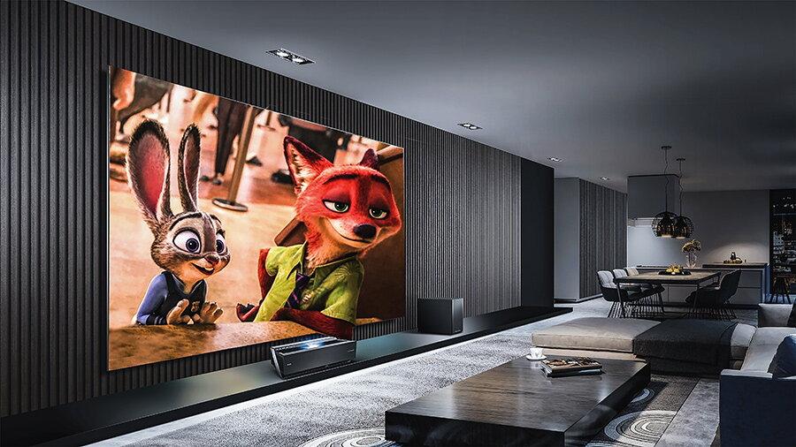 sistem home theatre cu proiector