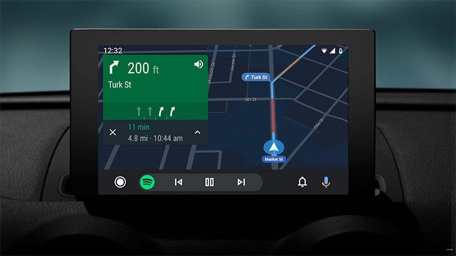 android auto navigatie