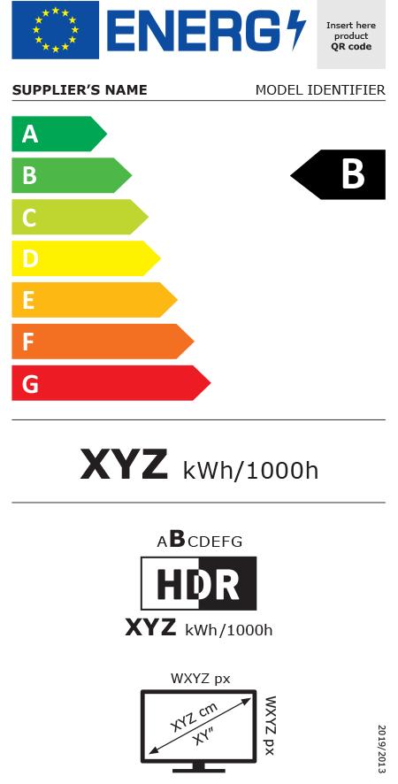 eticheta clasa energetica 2021 televizoare
