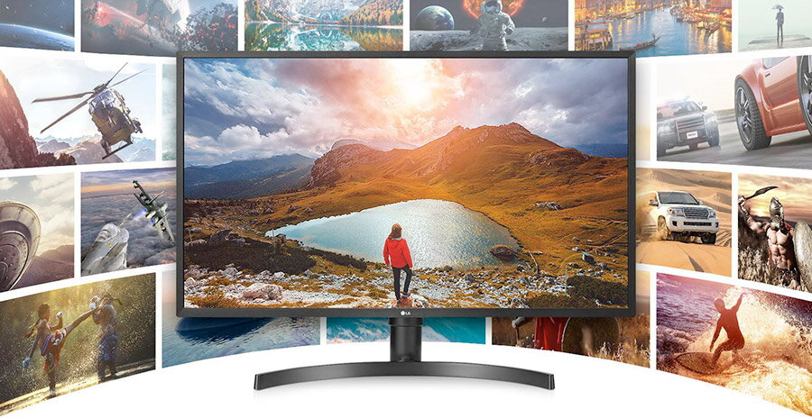LG 32UK550 review: un monitor 4K de 32 inch echilibrat