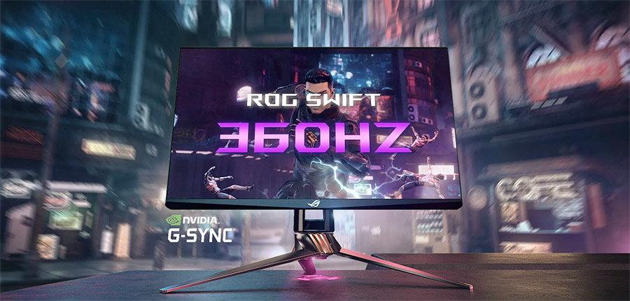 ASUS ROG Swift 360Hz: cel mai rapid monitor pentru jocuri, punct