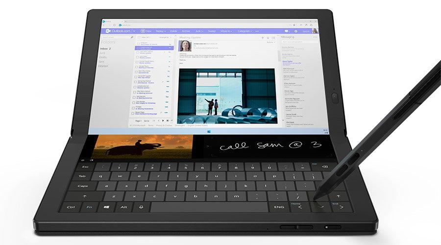 Laptop cu ecran pliabil: tendinta noua din 2020