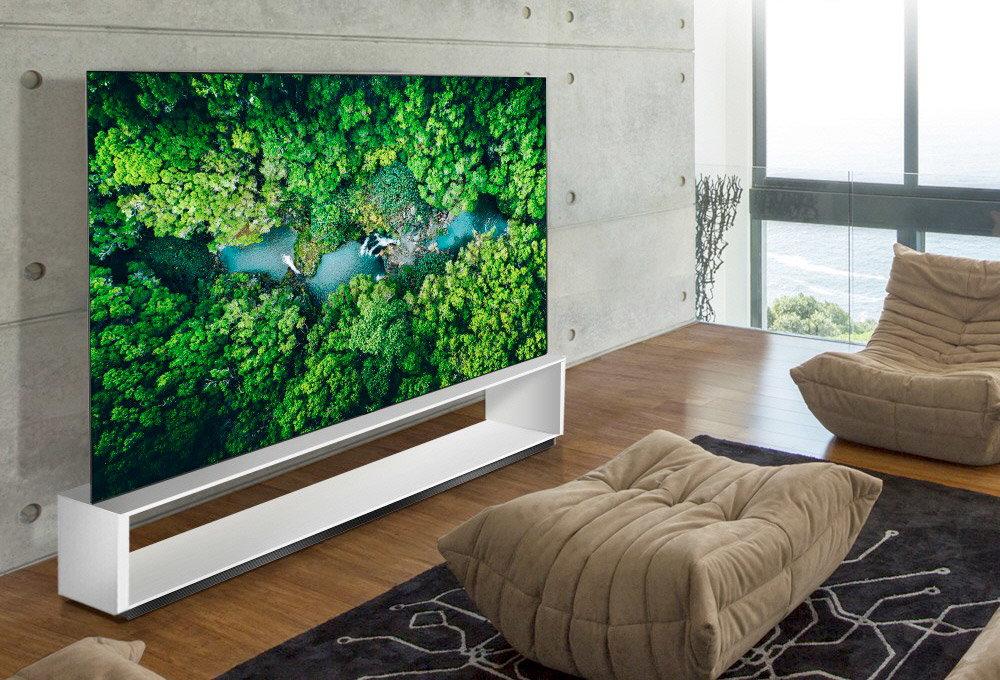 televizor 8k LG signature OLED
