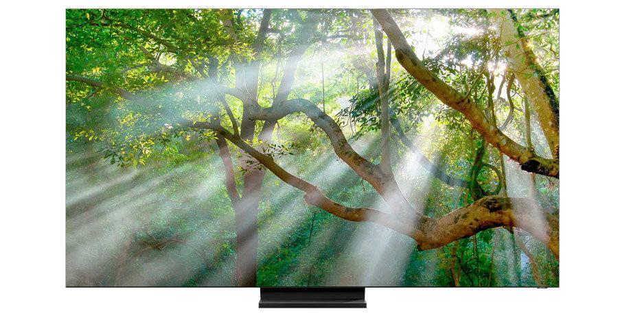 televizor 8k fara margini samsung