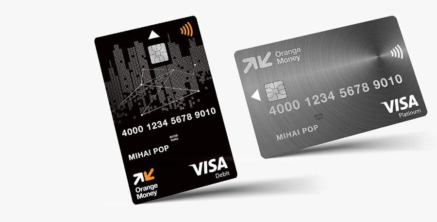 carduri visa orange money