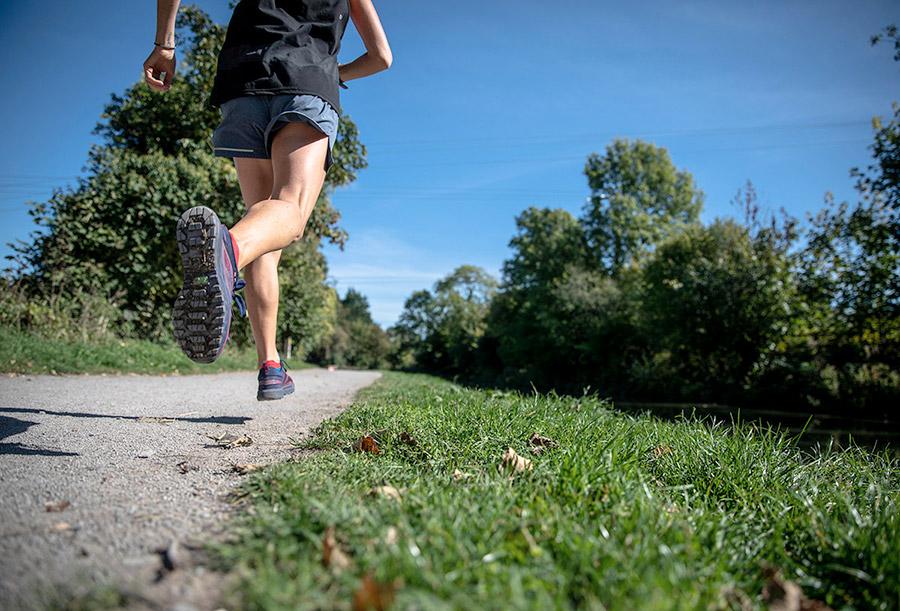 alergare in natura