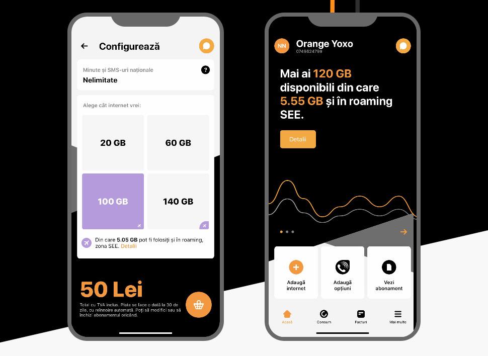 Orange Yoxo: abonament online care iti da bani inapoi pe ce nu consumi