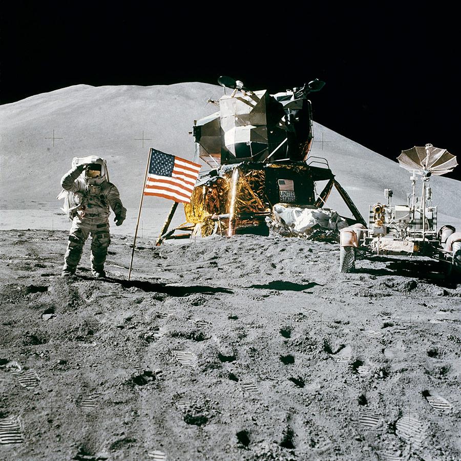 aselenizare luna rover modul lunar