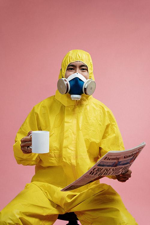 epidemie costum masca protectie