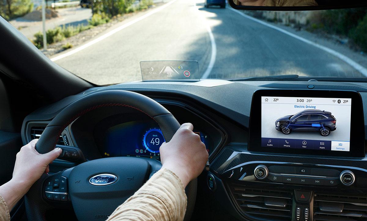 ford kuga 2020 head up display