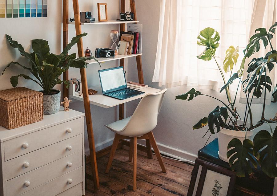 birou de lucru de acasa