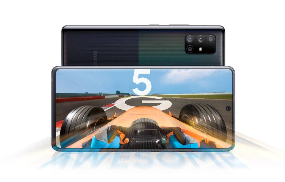 Samsung Galaxy A51 5G si A71 5G: mai rapide din toate punctele de vedere