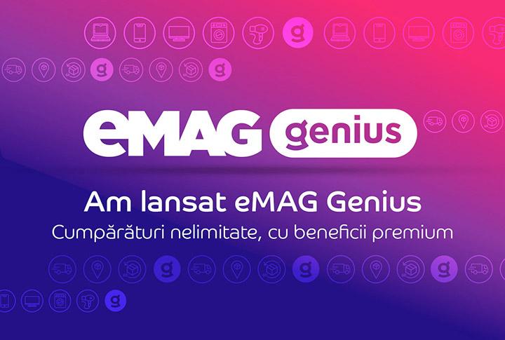 eMAG Genius: ce este, cat costa, servicii si beneficii incluse