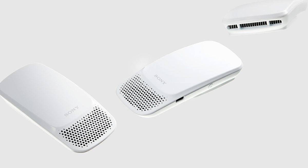 Sony Reon Pocket: aer conditionat portabil pe care il porti sub camasa!