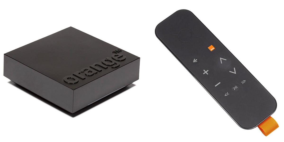 orange tv box go