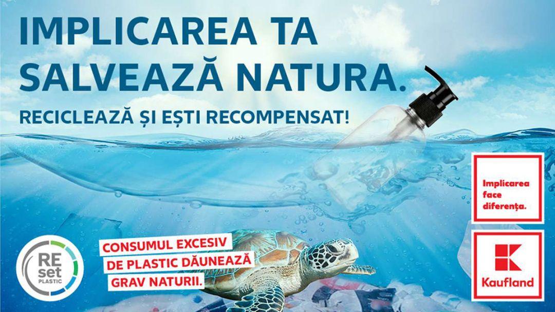 Initiativa Kaufland de reciclare a ambalajelor din plastic de la produse de igiena si curatenie
