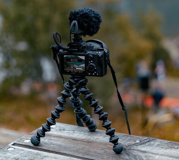 tripod camera foto