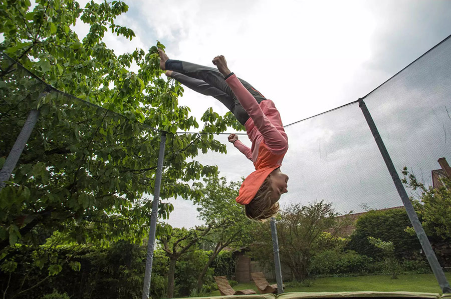 acrobatie trambulina