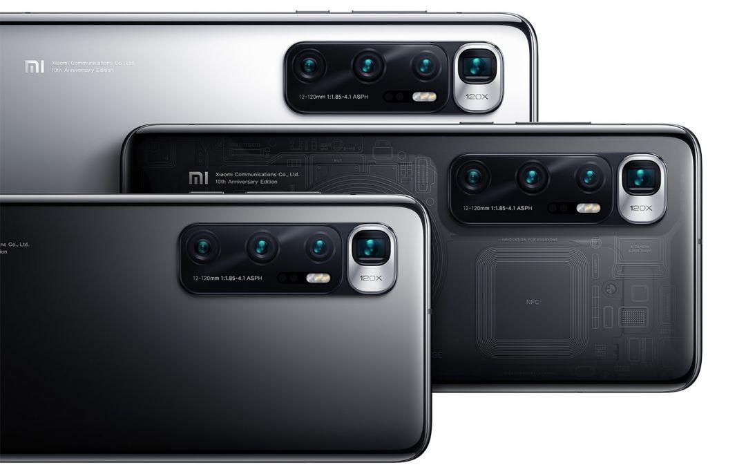 Xiaomi Mi 10 Ultra: 120 Hz, 120x zoom, 120 W