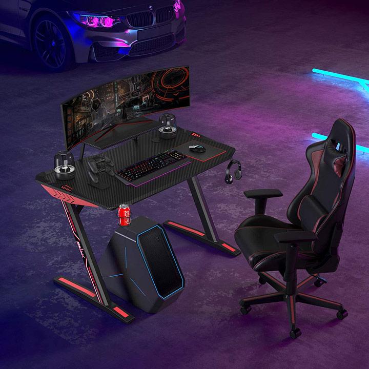 birou si scaun de gaming