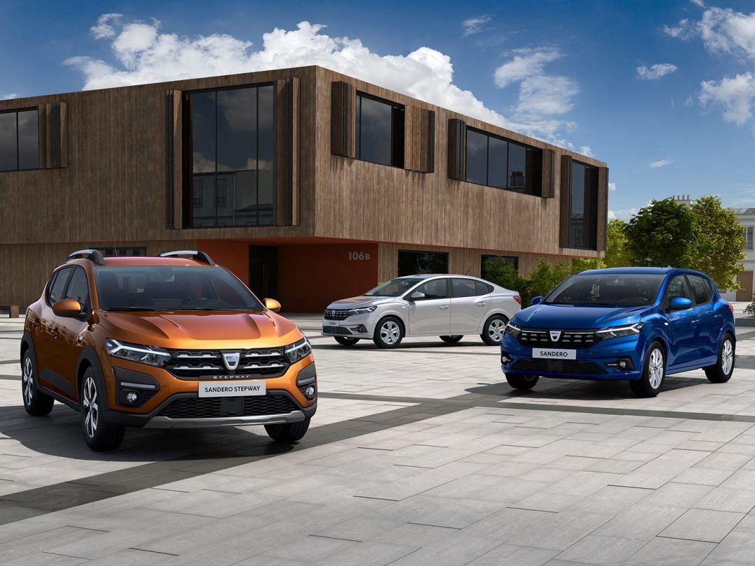 Dacia Logan, Sandero, Sandero Stepway: cum arata modelele 2020 din generatia a 3-a