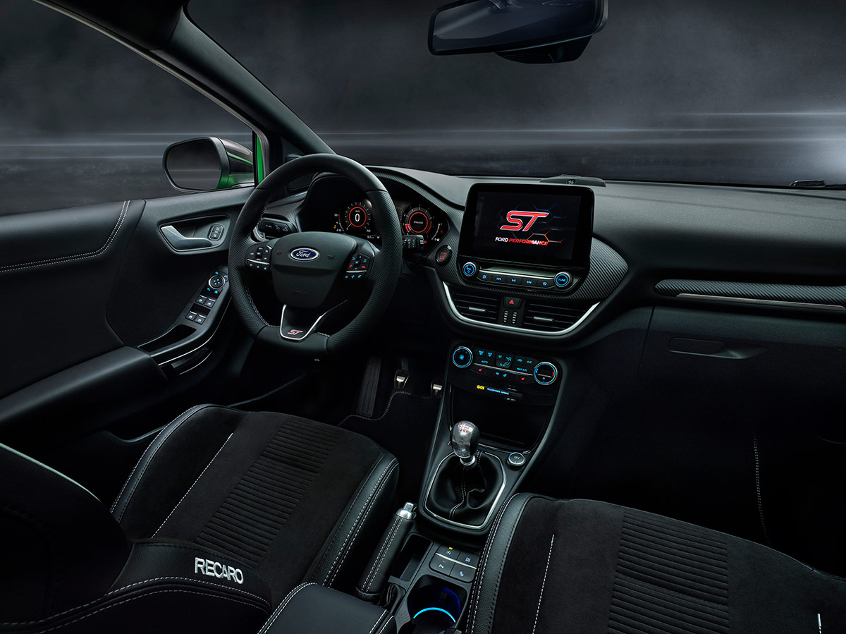 ford puma st interior