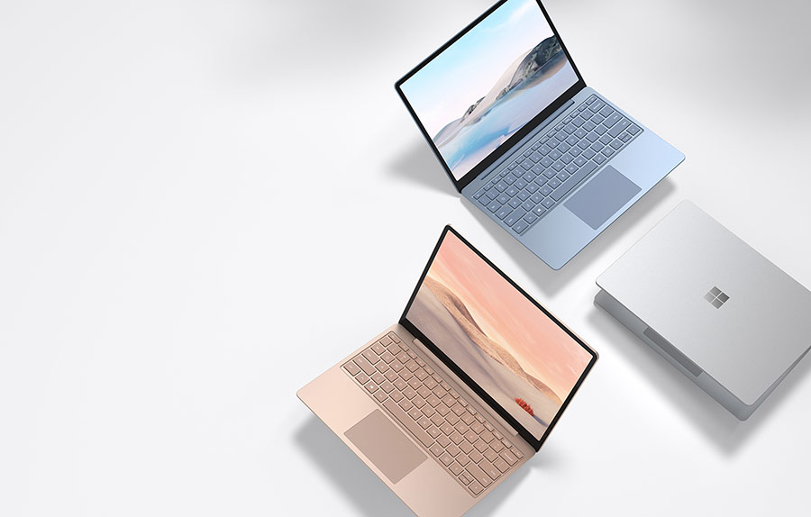 Microsoft Surface Laptop Go culori