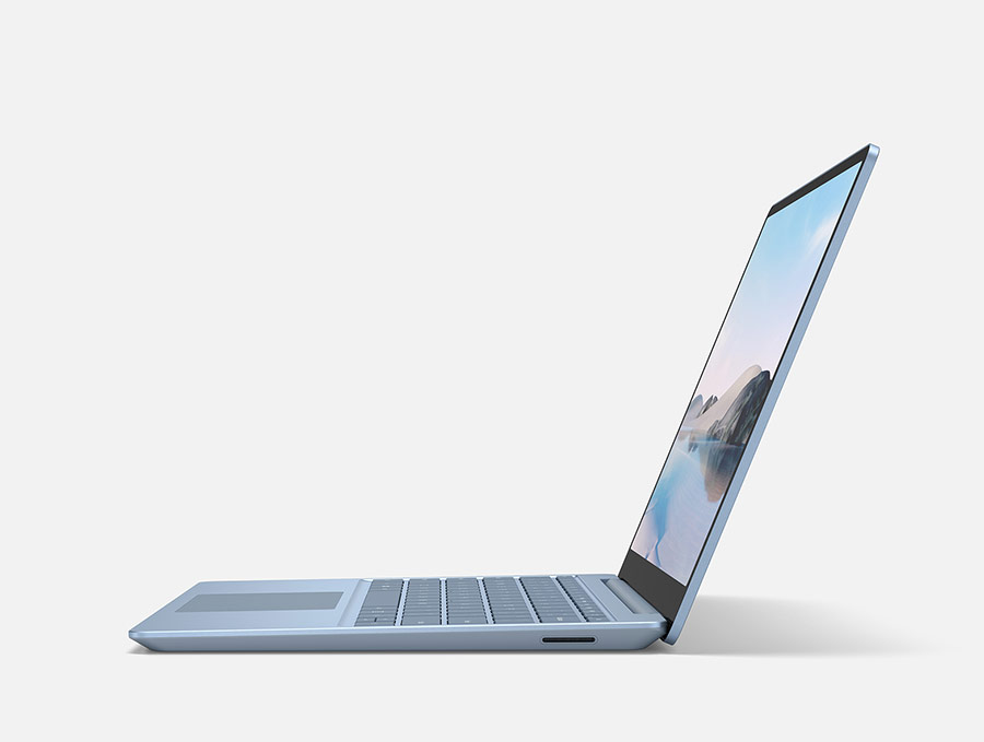 Microsoft Surface Laptop Go profil