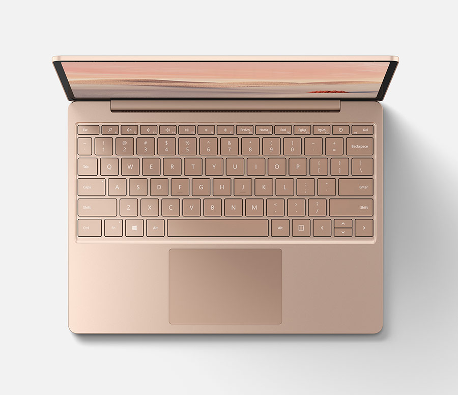 Microsoft Surface Laptop Go tastatura touchpad