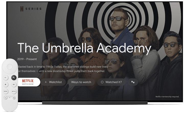google tv pe chromecast