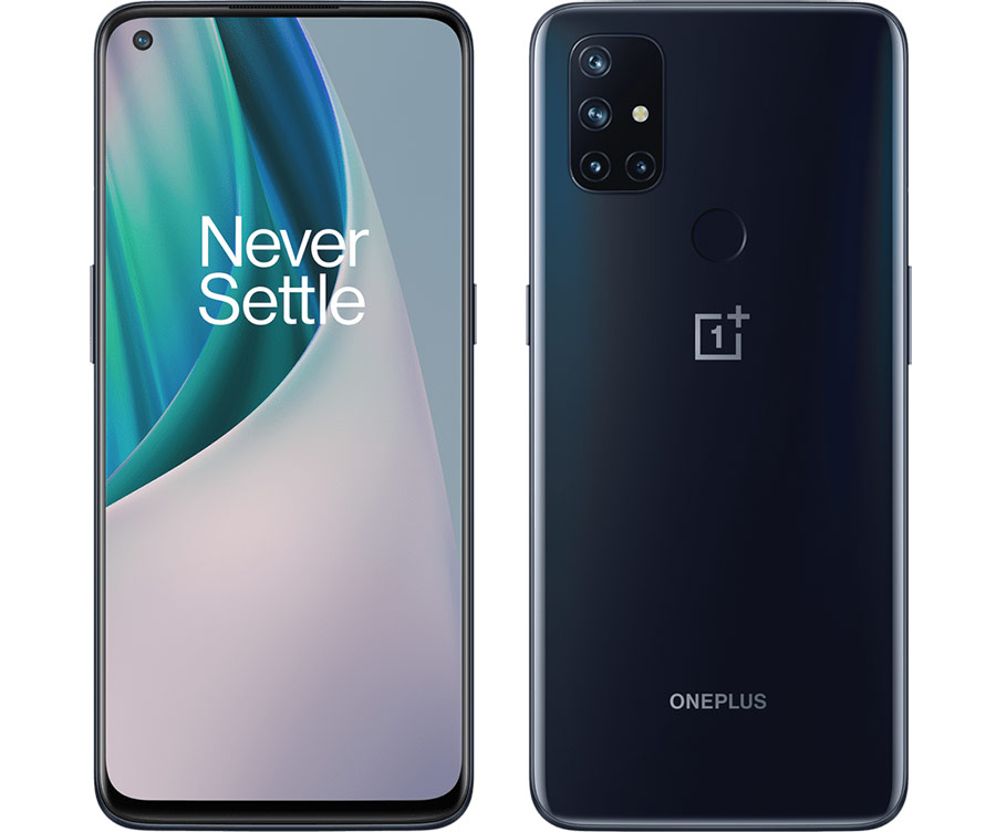 oneplus nord n10 5g fata verso
