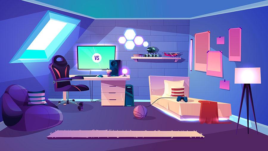 camera de gamer