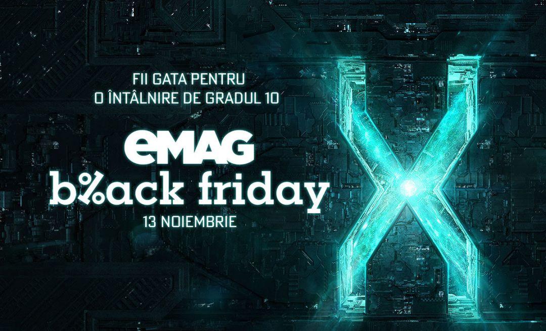 Black Friday 2020 la eMAG: cand incepe, lista cu produse vedeta la oferta