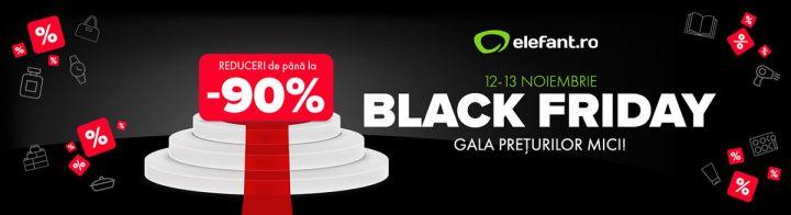Gala Preturilor Mici este Black Friday 2020 la Elefant
