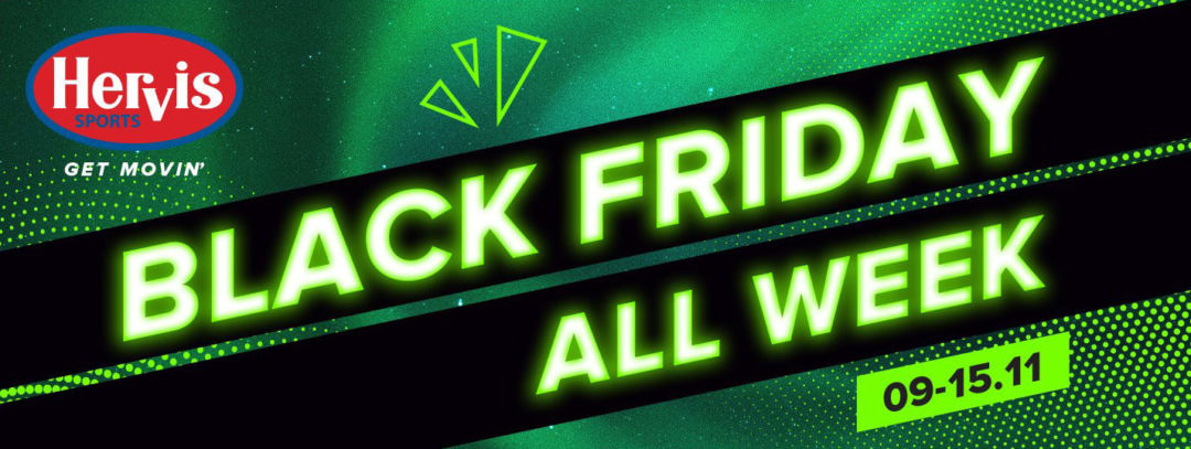 Black Friday 2020 All Week la Hervis: imbracaminte si echipament sport